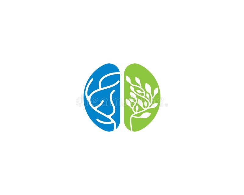 Brain Logo Template illustration stock