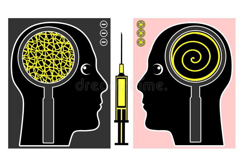 Brain Manipulation stock illustration