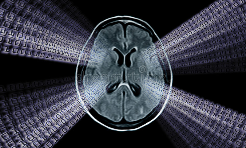 Download Brain mri image stock illustration. Image of background - 6989046