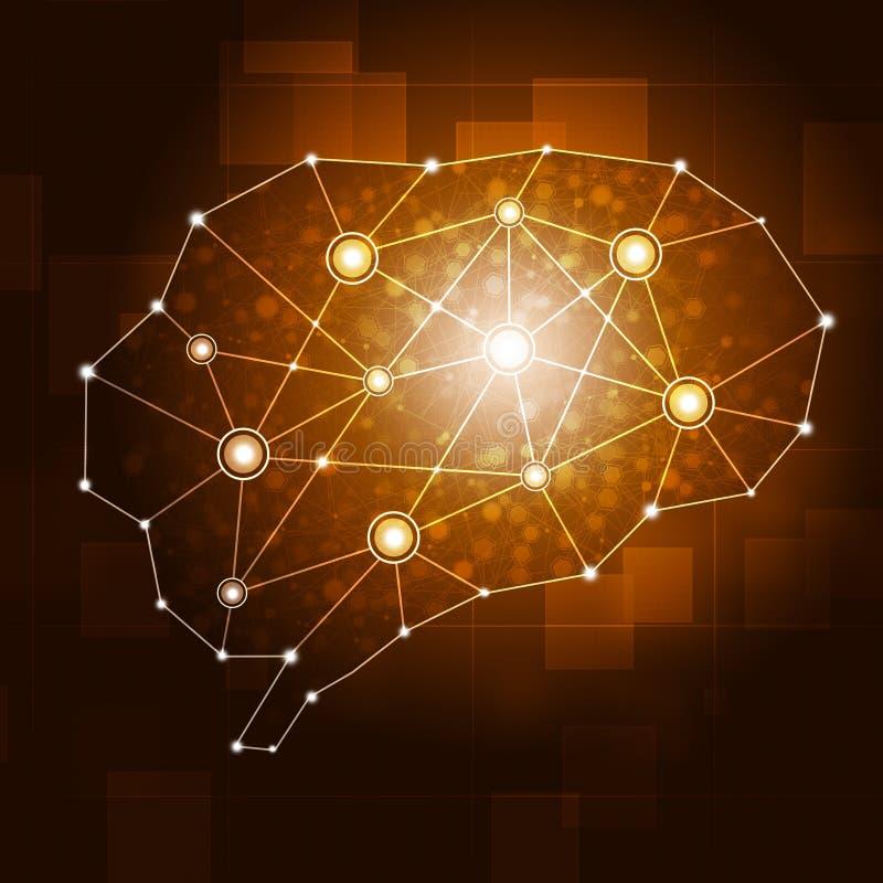 Brain Network libre illustration