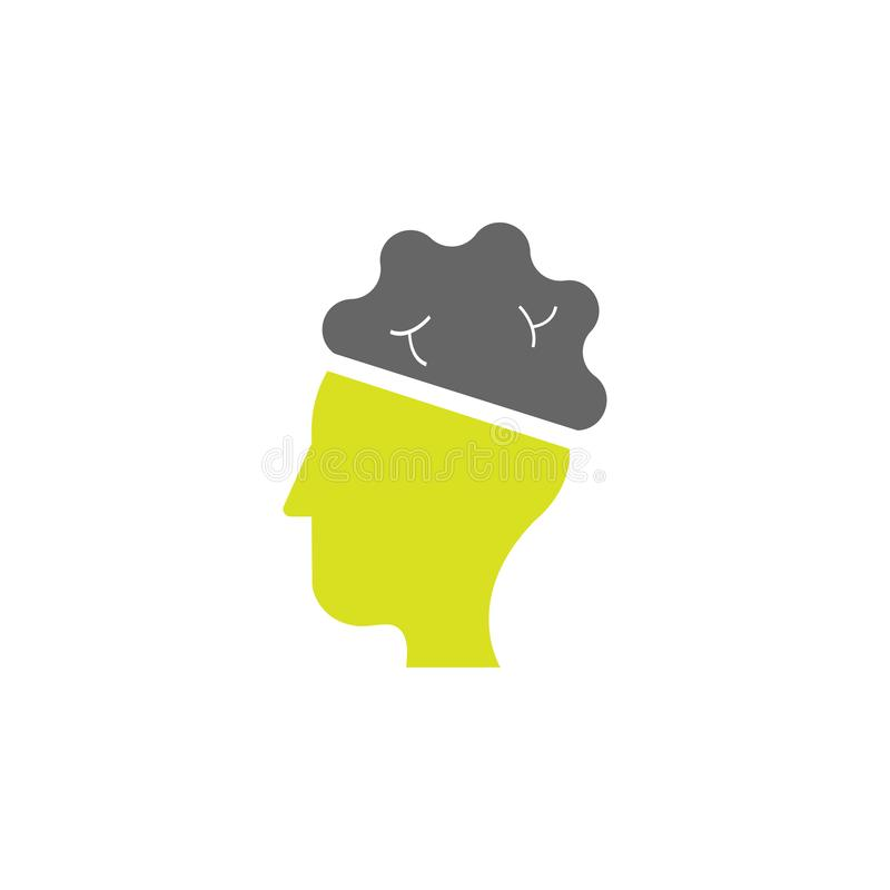 Brain, neuro icon. Element of Science experiment icon for mobile concept and web apps. Detailed Brain, neuro can be used for web stock illustration