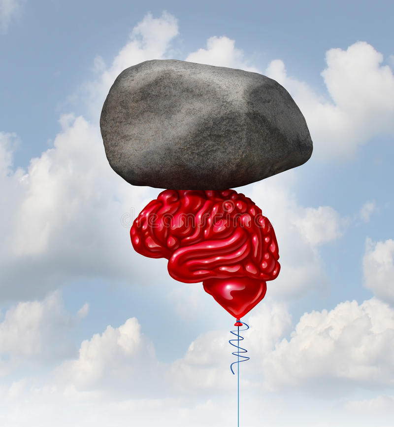 Brain Power stock illustration