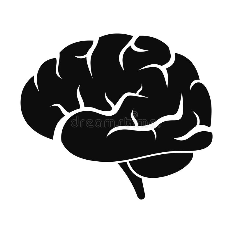 brain power icon simple style stock illustration illustration of abstract knowledge 128812730 brain power icon simple style stock