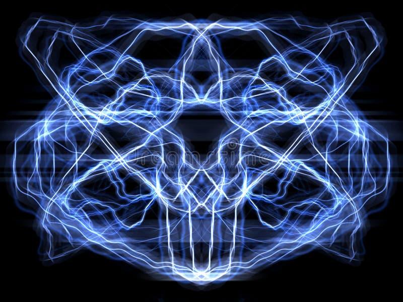 Brain_reflected ilustración del vector