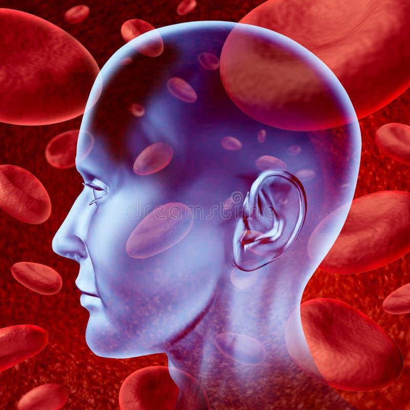 Download Brain stroke stock illustration. Image of alzheimer, health - 21785918