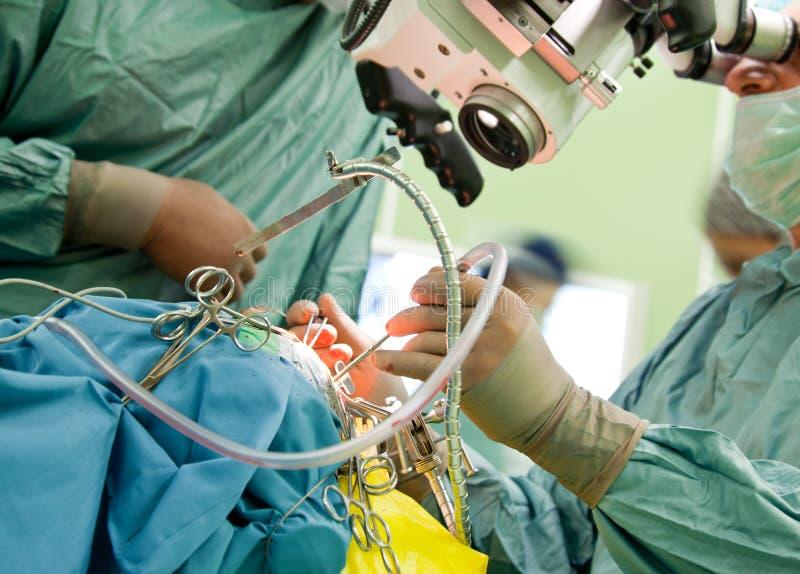 Brain surgery stock photo