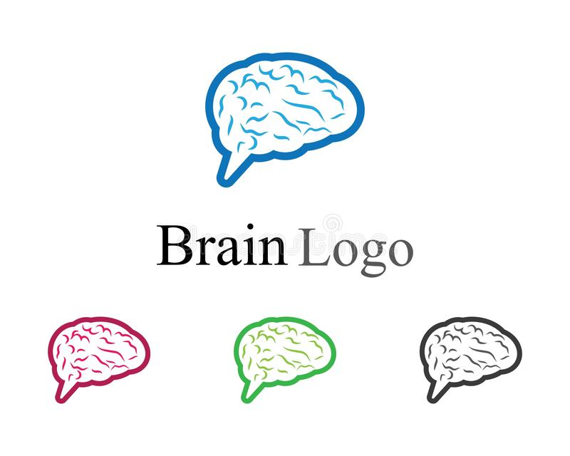 Brain Symbol Illustration illustration libre de droits