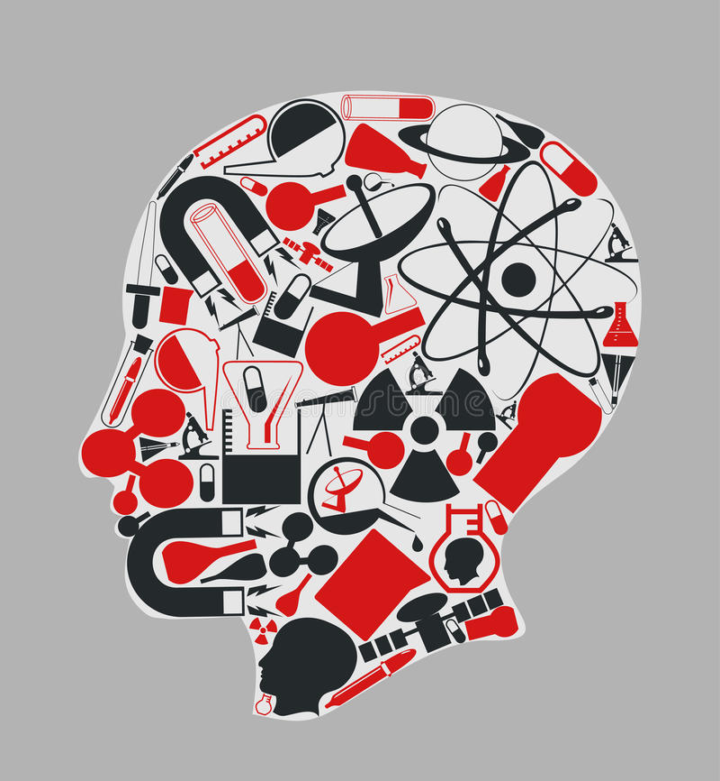 brain3 διανυσματική απεικόνιση