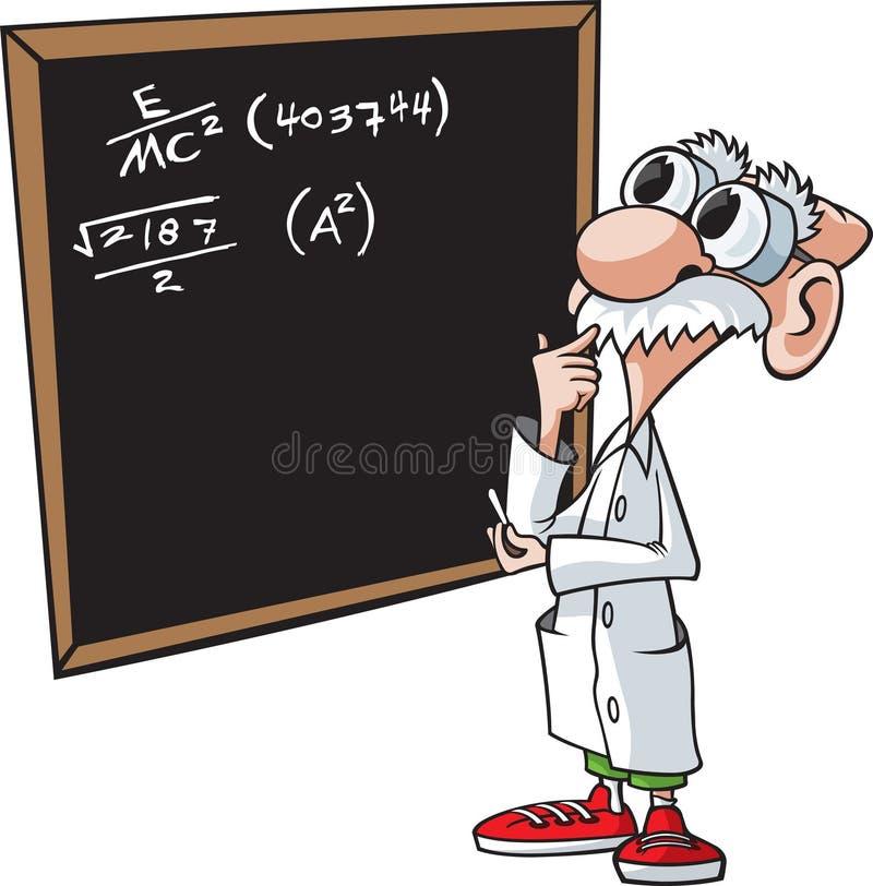 Brainiac. A cartoon scientist/professor. Layered vector and high resolution jpeg files available