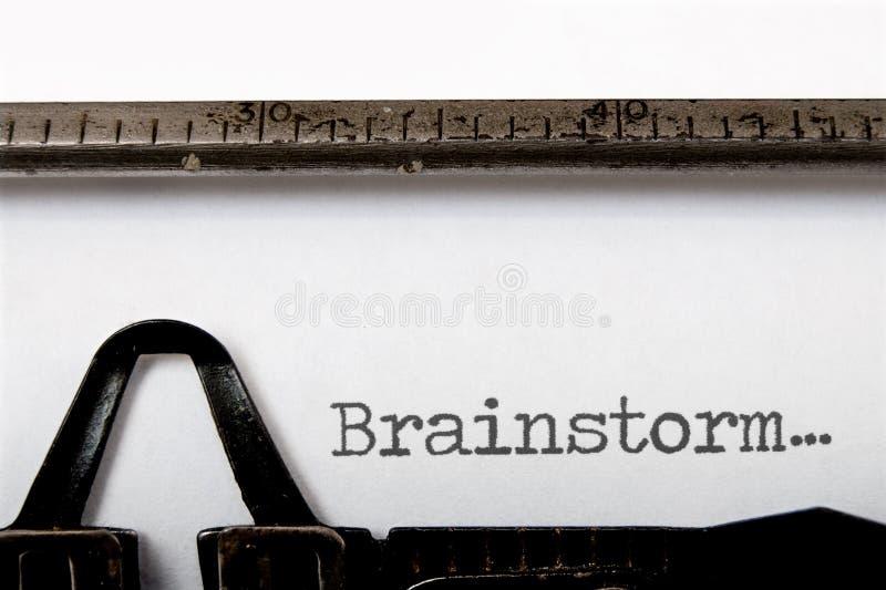 Brainstorm fotos de stock royalty free