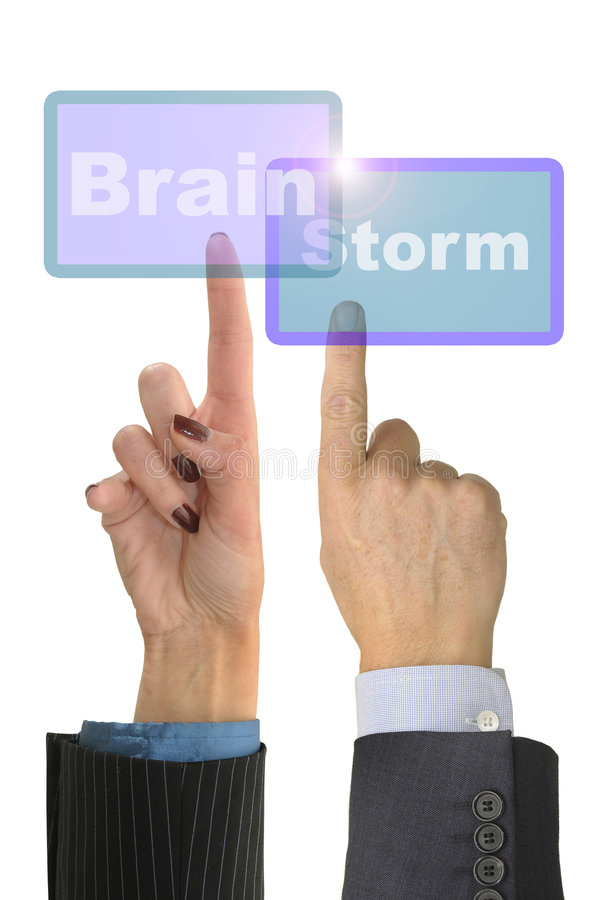 Download Brainstorm stock photo. Image of work, hourglass, vision - 7841038