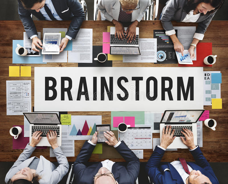 Brainstorm Analysis Creation Innovation Planning Concept.  stock photos