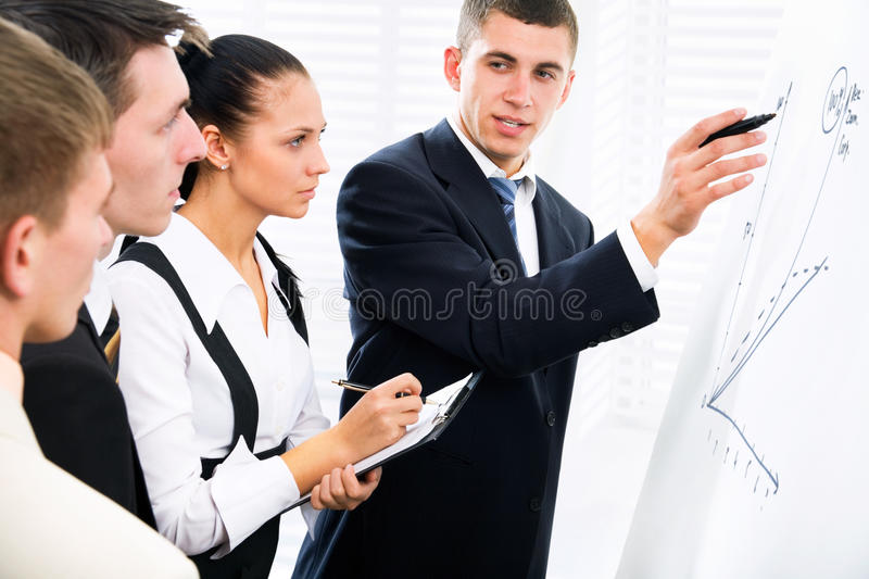 Download Brainstorming stock photo. Image of boss, happy, female - 23236870