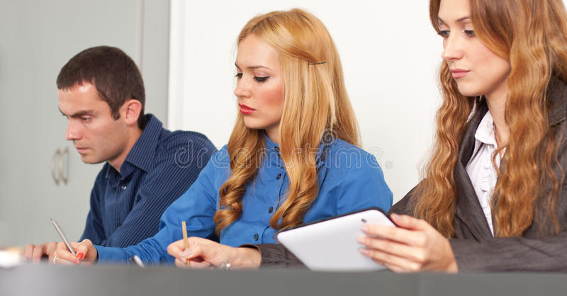 Download Brainstorming stock image. Image of executive, manager - 36577291