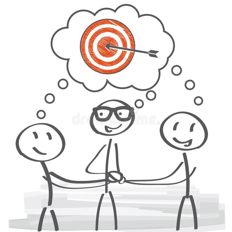 Brainstorming - drużynowy duch ilustracji