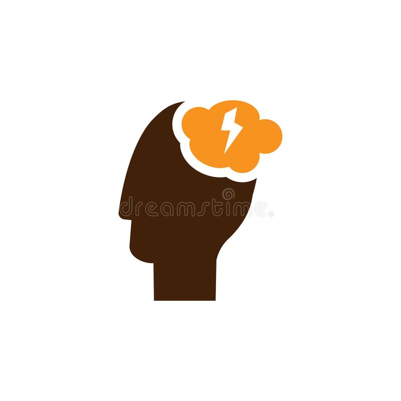 Brainstorming, idea icon. Element of Web Optimization icon for mobile concept and web apps. Detailed Brainstorming, idea icon can. Be used for web and mobile on vector illustration
