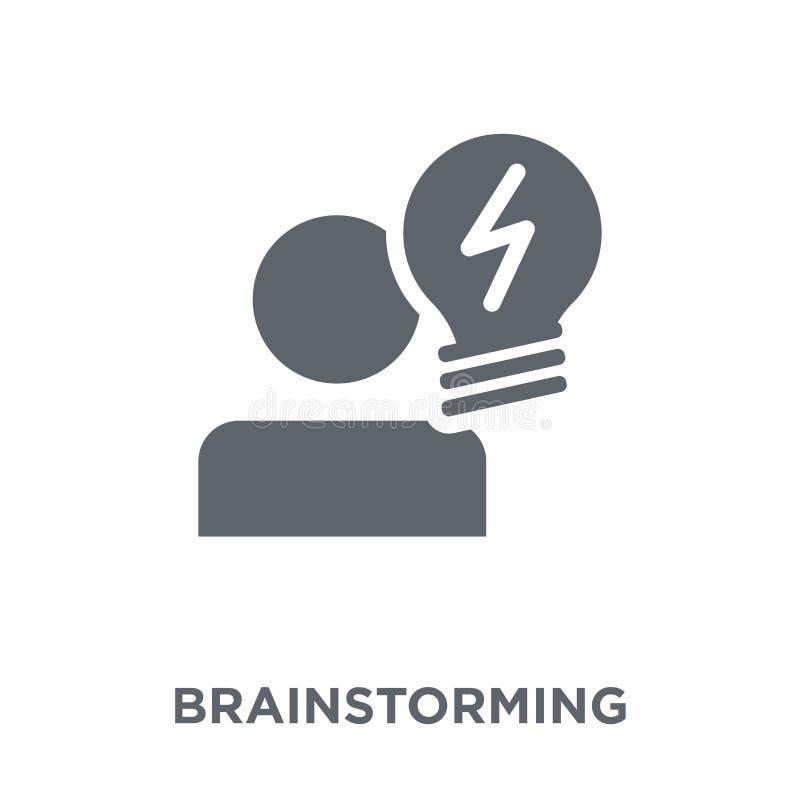 Brainstorming ikona od kolekcji royalty ilustracja