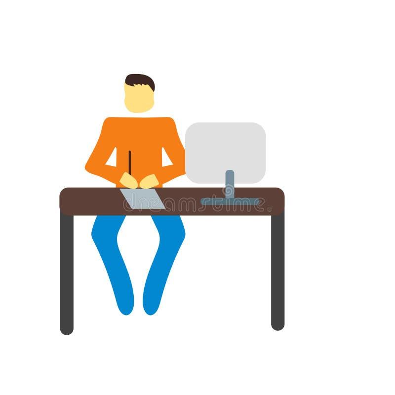 Brainstorming ikony wektor odizolowywający na białym tle, Brainstorming znak ilustracja wektor
