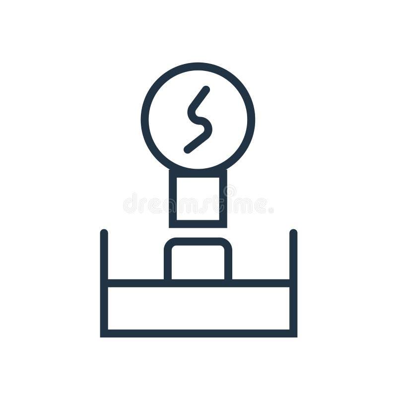 Brainstorming ikony wektor odizolowywający na białym tle, Brainstorming znak royalty ilustracja