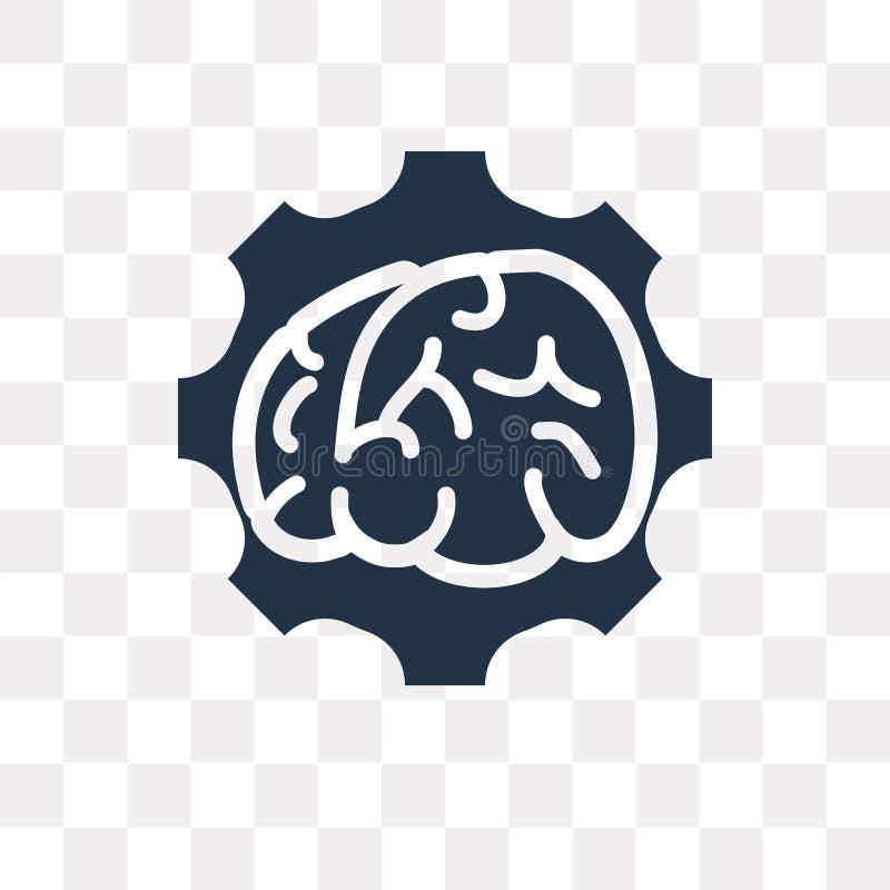 Brainstorming wektorowa ikona odizolowywająca na przejrzystym tle, Br royalty ilustracja