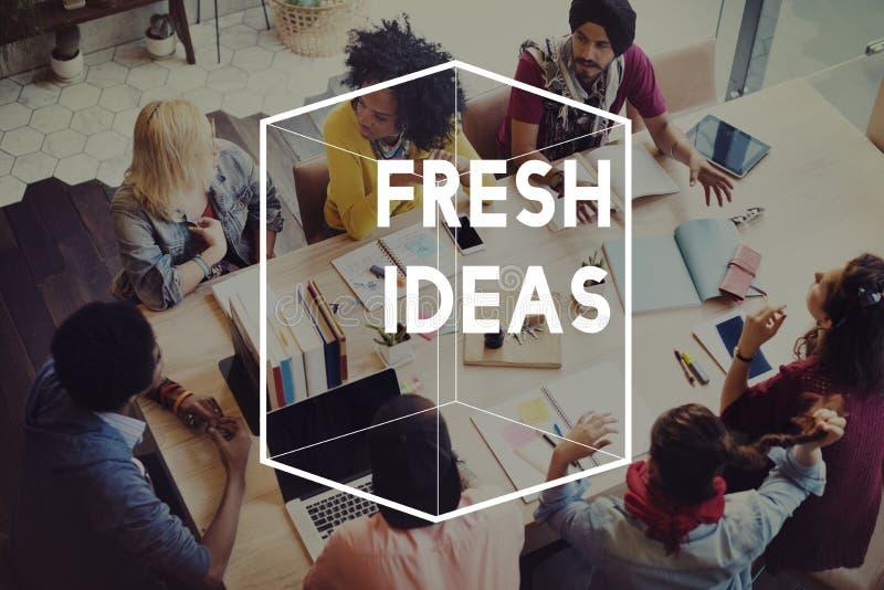 Brainstormings-unterschiedliches Würfel-Grafik-Konzept lizenzfreies stockbild