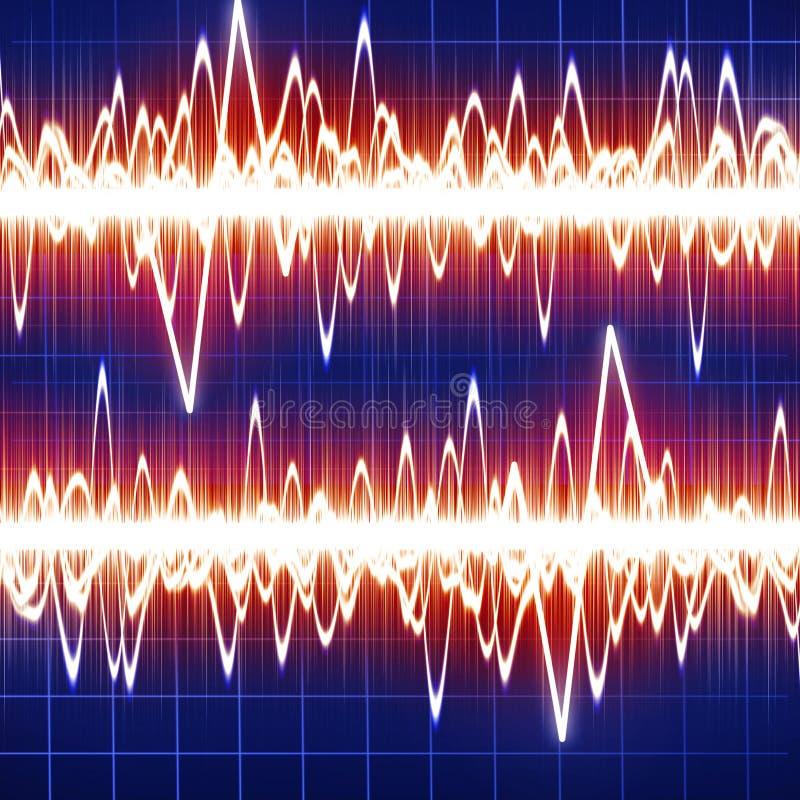 Brainwaves ilustração stock