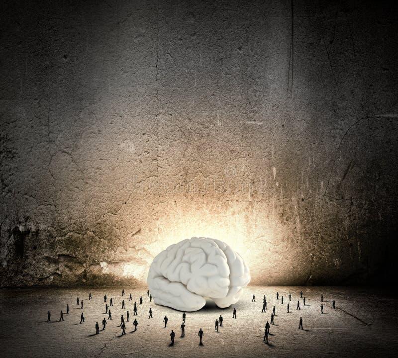 Download Brainwaves стоковое изображение. изображение насчитывающей бизнесмен - 41651135