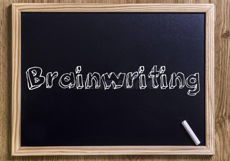 Brainwriting lizenzfreies stockfoto