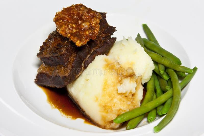 Braised Pork Belly Royalty Free Stock Photo