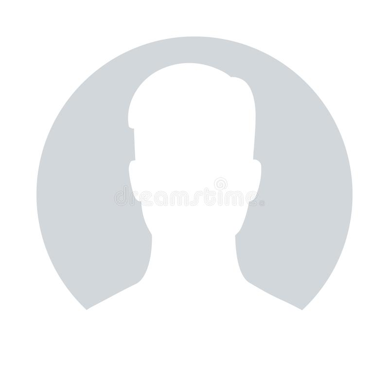 Braka avatar profilu ikona ilustracja wektor