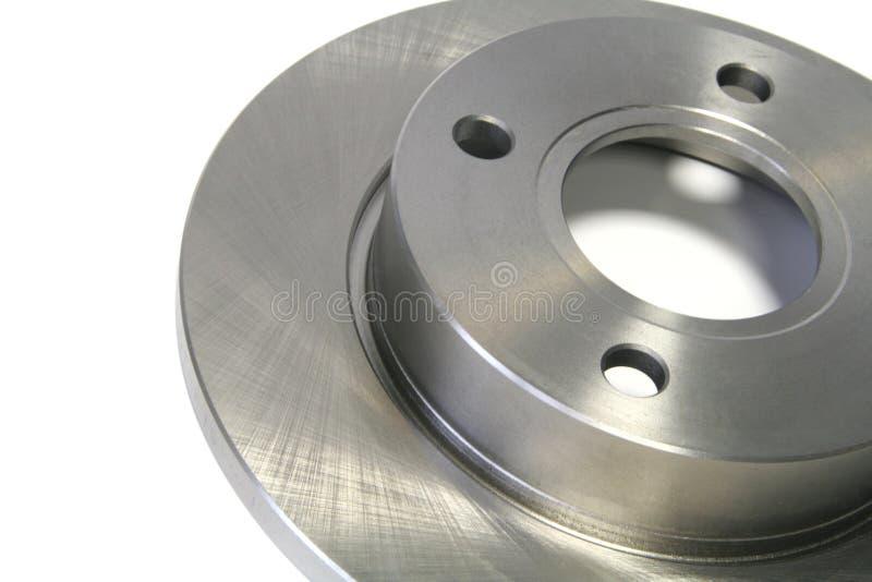 Brake disc. Close-up shot of a car brake disc royalty free stock images
