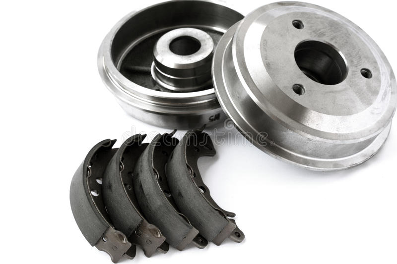 Brake Drums And Shoes Royalty Free Stock Photography