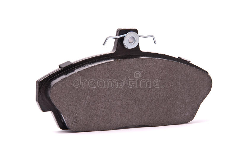 Brake pad. On a white background stock image