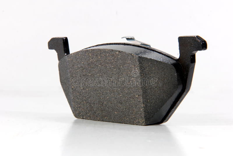 Brake pad. For passenger car royalty free stock photos