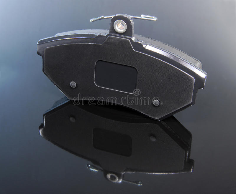 Brake pad. For passenger car, part for disc brake system royalty free stock photo