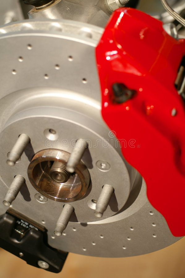 Brake and Rotor stock photography