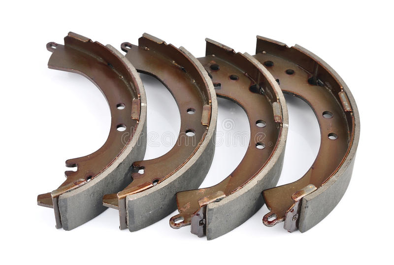 Download Brake shoes stock image. Image of mechanical, gray, automobile - 28995305