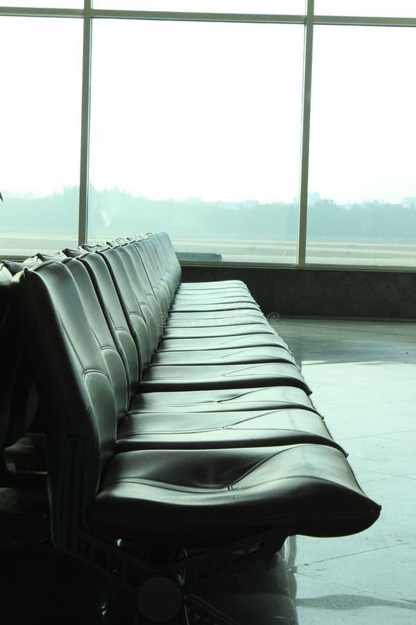 Bram siedzenia w lotnisku obrazy stock