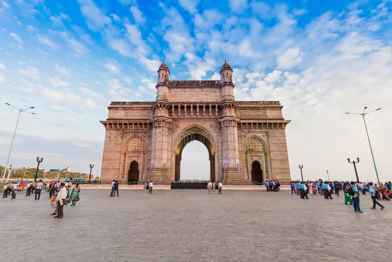 brama Bombaju indu fotografia stock