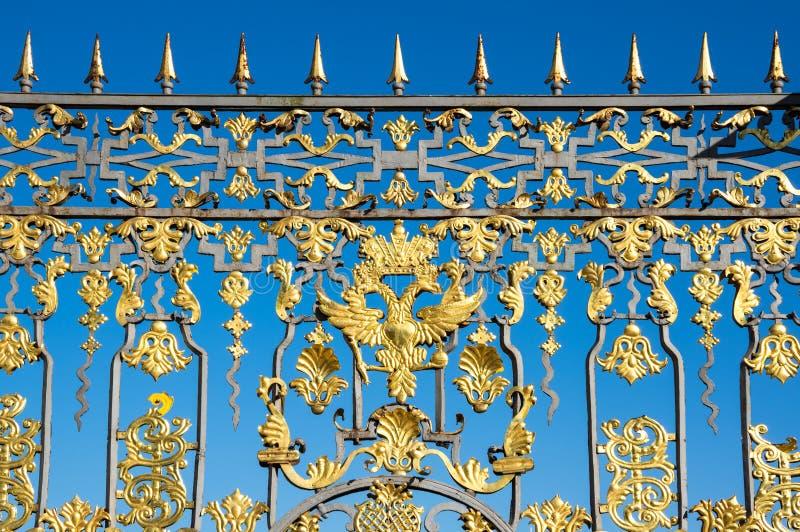 Brama Catherine pałac zdjęcia royalty free