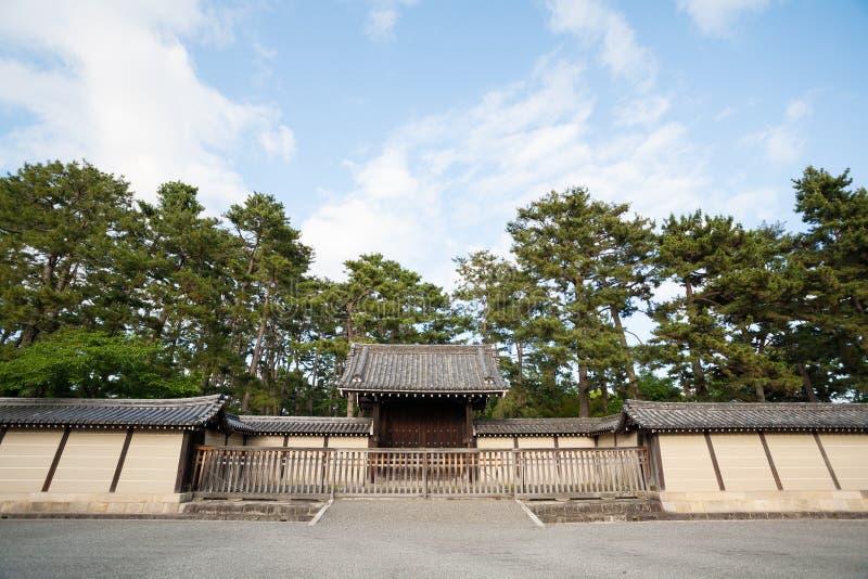 Brama Cesarski pałac w Kyoto obrazy royalty free