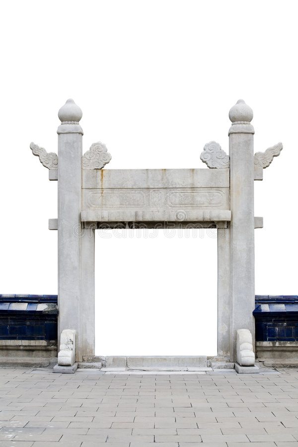 brama kamień obrazy stock
