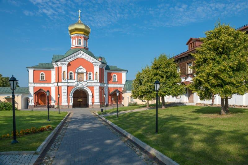 Brama kościół st Philip obraz royalty free