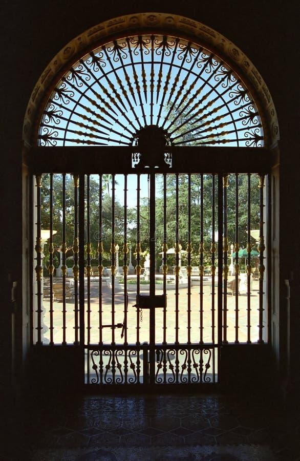 brama ozdobnych zdjęcie royalty free