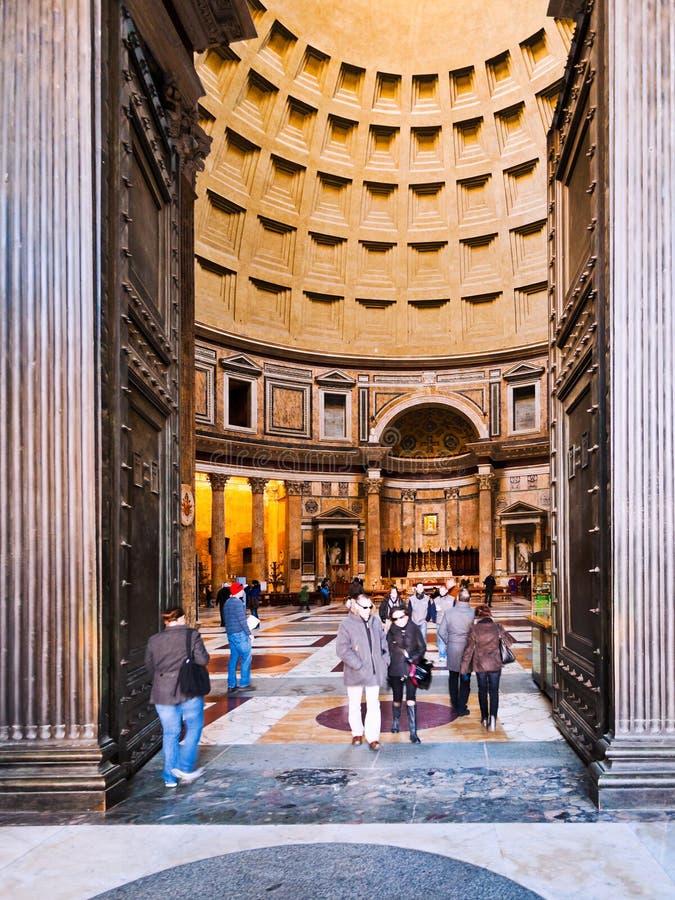 Brama panteon, Rzym zdjęcie royalty free
