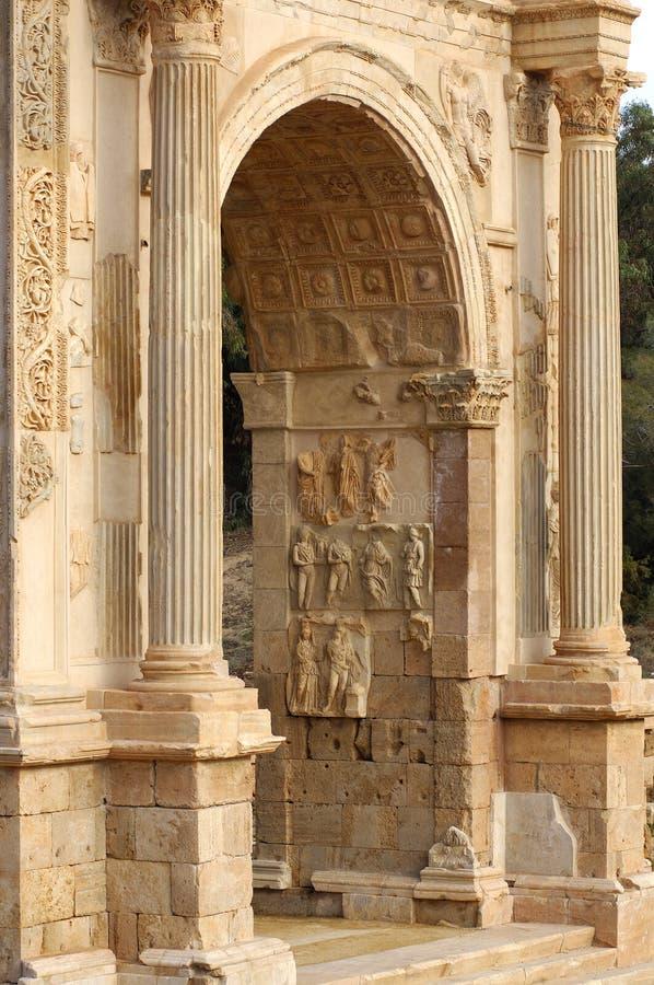 brama rzymska zdjęcie royalty free