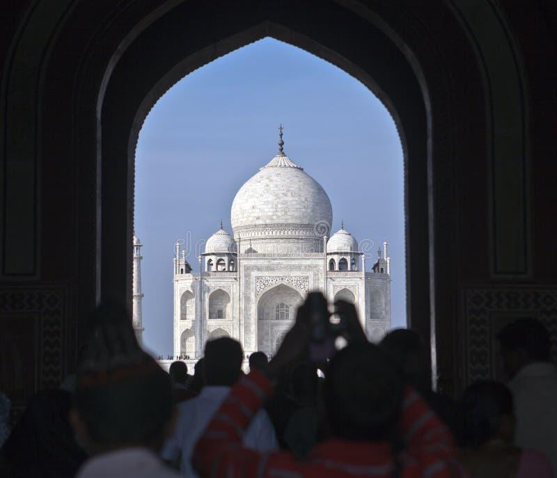 Brama Taj Mahal kompleks, India obraz royalty free