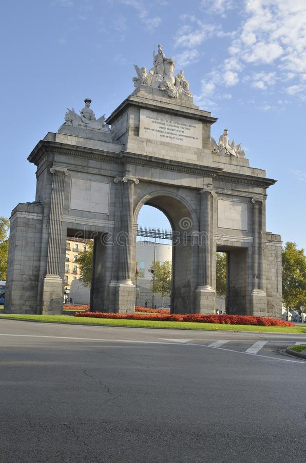 Brama Toledo fotografia royalty free
