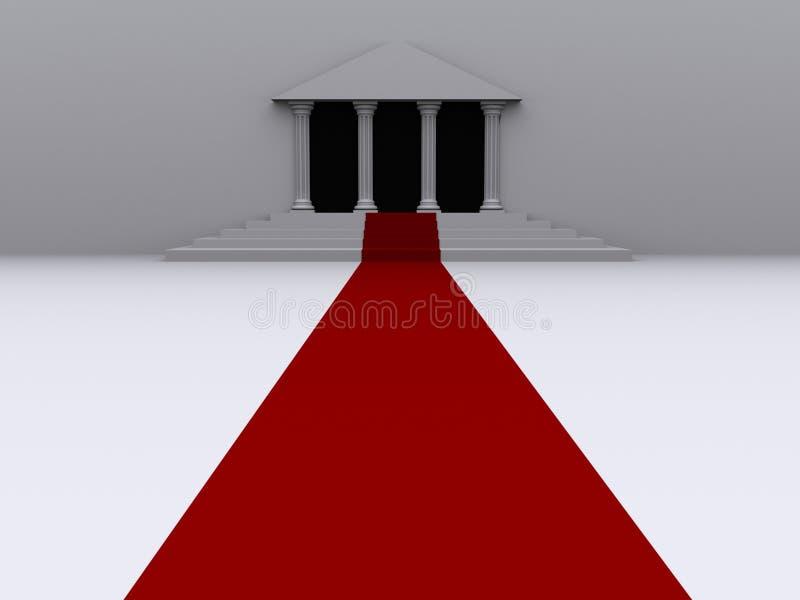 brama uniwersytet royalty ilustracja