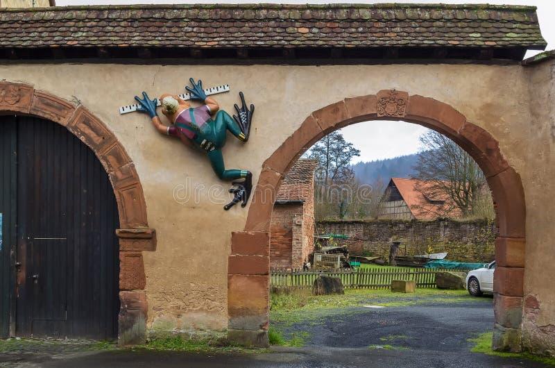 Brama w Budingen, Niemcy obraz royalty free
